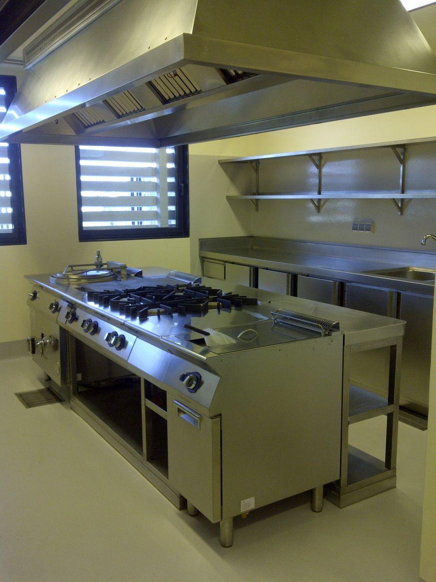 Cocina Industrial Completa